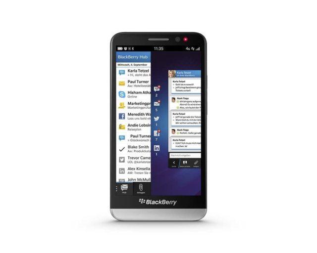 naprawa zbitej szybki wymiana wyswietlacza blackberry Z30
