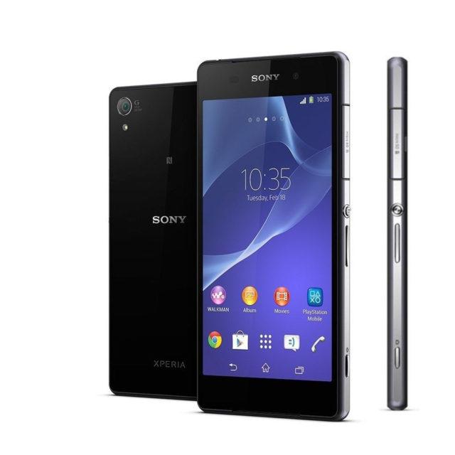 naprawa zbitej szybki wymiana wyświetlacza Sony Xperia Z2 D6502 D6503
